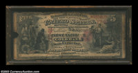 San Francisco, CA - $5 1870 Fr. 1136 First National Gold Bank of San Francisco Ch. # 1741 This Gold Bank Note is a low...