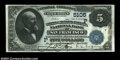 San Francisco, CA - $5 1882 Date Back Fr. 537 The Wells Fargo Nevada NB Ch. # (P)5105 One of the nicest examples we've...