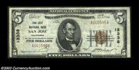 San Jose, CA - $5 1929 Ty. 1, $10 1929 Ty. 1, $10 1929 Ty. 1 San Jose NB Ch. # 13338 A very nice circulated trio from t...