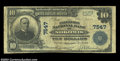 Nokomis, IL - $10 1902 Plain Back Fr. 624 The Farmers NB Ch. # 7547 Large notes only from this tough Nokomis bank, with...