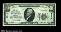 National Bank Notes:Kentucky, Adairville, KY - $10 1929 Ty. 1 The First NB Ch. # ...