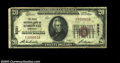National Bank Notes:Kentucky, Bardwell, KY - $20 1929 Ty. 2 FNB of Bardwell Ch. # ...