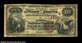 National Bank Notes:Kentucky, Richmond, KY - $10 1882 Brown Back Fr. 484 Madison NB of ...