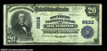 National Bank Notes:Kentucky, Richmond, KY - $20 1902 Plain Back Fr. 653 The Southern ...