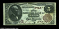 National Bank Notes:Maine, Bath , ME - $5 1882 Brown Back Fr. 466 The First NB Ch....