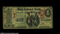 National Bank Notes:Maine, Lewiston, ME - $1 1875 Fr. 383 First NB of Lewiston Ch....