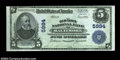 National Bank Notes:Maryland, Baltimore, MD - $5 1902 Plain Back Fr. 608 The Old Town ...