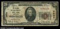 National Bank Notes:Maryland, Bel Air, MD - $20 1929 Ty. 1 The Second NB Ch. # 3933