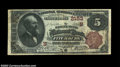 Fitchburg, MA - $5 1882 Brown Back Fr. 474 The Safety Fund NB Ch. # (N)2153 A lovely note bearing one of the classic ci...