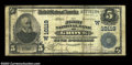 National Bank Notes:Oklahoma, Grove, OK - $5 1902 Plain Back Fr. 602 The First NB Ch....
