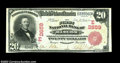 National Bank Notes:Pennsylvania, Bangor, PA - $20 1902 Red Seal Fr. 639 The First NB Ch....