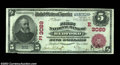 National Bank Notes:Pennsylvania, Bedford, PA - $5 1902 Red Seal Fr. 587 The First NB Ch....
