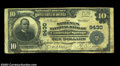 National Bank Notes:Pennsylvania, Cambridge Springs, PA - $10 1902 Plain Back Fr. 626 The ...