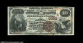 National Bank Notes:Pennsylvania, East Brady, PA - $10 1882 Brown Back Fr. 490 Peoples NB ...