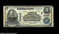 National Bank Notes:Pennsylvania, East Mauch Chunk, PA - $5 1902 Plain Back Fr. 600