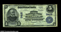 National Bank Notes:Pennsylvania, Eldred, PA - $5 1902 Plain Back Fr. 600 The First NB ...
