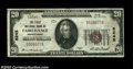 National Bank Notes:Pennsylvania, Fairchance, PA - $20 1929 Ty. 1 The First NB Ch. # ...