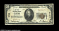 National Bank Notes:Pennsylvania, Genesee, PA - $20 1929 Ty. 1 First NB of Genesee Ch. # ...