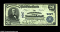 National Bank Notes:Pennsylvania, Littlestown, PA - $20 1902 Plain Back Fr. 652 The ...