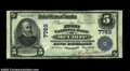 National Bank Notes:Pennsylvania, McClure, PA - $5 1902 Plain Back Fr. 598 First NB of ...