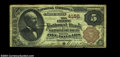 National Bank Notes:Pennsylvania, Middleburgh, PA - $5 1882 Brown Back Fr. 471 First NB of ...