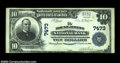 National Bank Notes:Pennsylvania, Mount Jewett, PA - $10 1902 Plain Back Fr. 624 The Mount ...