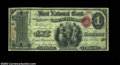 National Bank Notes:Pennsylvania, Mount Pleasant, PA - $1 Original Fr. 380 The First NB ...