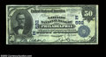 National Bank Notes:Pennsylvania, Philadelphia, PA - $50 1902 Date Back Fr. 667 The Girard ...