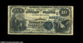 National Bank Notes:Pennsylvania, Pittsburgh, PA - $10 1882 Date Back Fr. 540 Lincoln NB ...