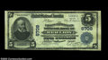 National Bank Notes:Pennsylvania, Red Lion, PA - $5 1902 Plain Back Fr. 598 Farmers and ...