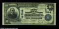 National Bank Notes:Pennsylvania, Susquehanna, PA - $10 1902 Plain Back Fr. 624 The City ...