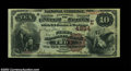 National Bank Notes:Pennsylvania, Troy, PA - $10 1882 Brown Back Fr. 487 The First NB Ch....