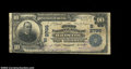 National Bank Notes:Tennessee, Bristol, TN - $10 1902 Plain Back Fr. 624 First NB of ...