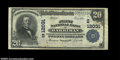National Bank Notes:Tennessee, Harriman, TN - $20 1902 Plain Back Fr. 660 First NB in ...