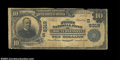 National Bank Notes:Tennessee, Mount Pleasant, TN - $10 1902 Plain Back Fr. 626 First ...