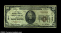 National Bank Notes:Virginia, Christiansburg, VA - $20 1929 Ty. 1 First NB of ...
