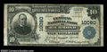 National Bank Notes:Virginia, Richmond, VA - $10 1902 Plain Back Fr. 628 Central NB of ...