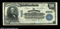 National Bank Notes:Virginia, Staunton, VA - $20 1902 Plain Back Fr. 650 The Staunton ...