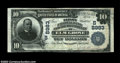 National Bank Notes:West Virginia, Elm Grove, WV - $10 1902 Plain Back Fr. 626 First NB & ...