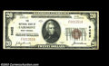 National Bank Notes:West Virginia, Fairmont, WV - $20 1929 Ty. 1 NB of Fairmont Ch. # ...