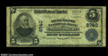 National Bank Notes:West Virginia, Montgomery, WV - $5 1902 Plain Back Fr. 601 Merchants NB ...