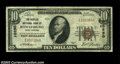 National Bank Notes:West Virginia, Rowlesburg, WV - $10 1929 Ty. 1 The Peoples NB Ch. # ...