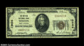 National Bank Notes:West Virginia, Weston, WV - $20 1929 Ty. 1 Weston NB Ch. # 13634