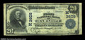 National Bank Notes:Wisconsin, Baraboo, WI - $20 1902 Plain Back Fr. 652 The First NB ...