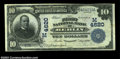 National Bank Notes:Wisconsin, Berlin, WI - $10 1902 Date Back Fr. 620 The First NB ...