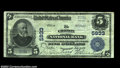 National Bank Notes:Wisconsin, Chilton, WI - $5 1902 Plain Back Fr. 607 The Chilton NB