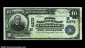 National Bank Notes:Wisconsin, Clintonville, WI - $10 1902 Plain Back Fr. 624 The First ...