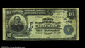 National Bank Notes:Wisconsin, Columbus, WI - $10 1902 Plain Back Fr. 624 The First NB