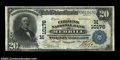 National Bank Notes:Wisconsin, Merrill, WI - $20 1902 Plain Back Fr. 654 The Citizens ...