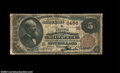 National Bank Notes:Wisconsin, Milwaukee, WI - $5 1882 Brown Back Fr. 477 The Marine NB